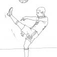 Coloriage Football 15