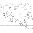 Coloriage Football 16