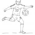 Coloriage Football 18