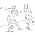 Coloriage Football 19