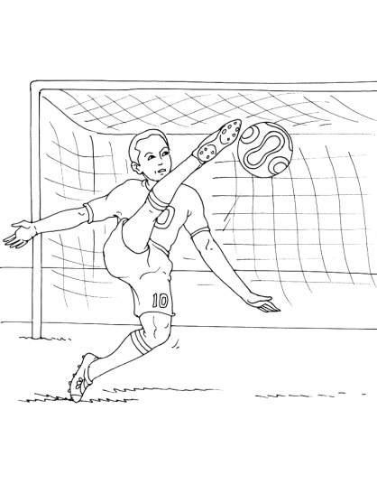 Coloriage Football 22