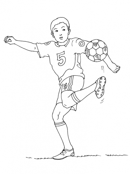 Coloriage Football 24