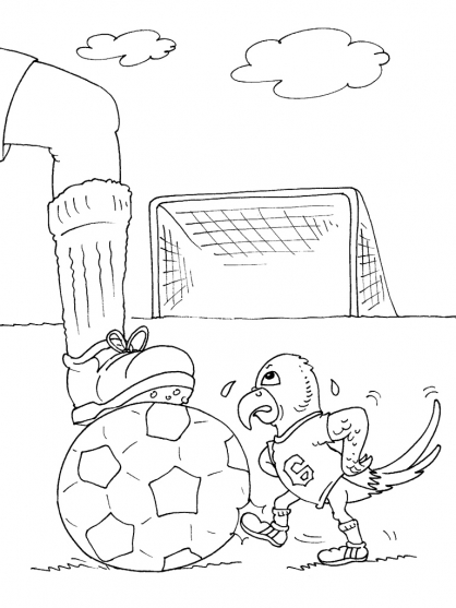 Coloriage Football 27