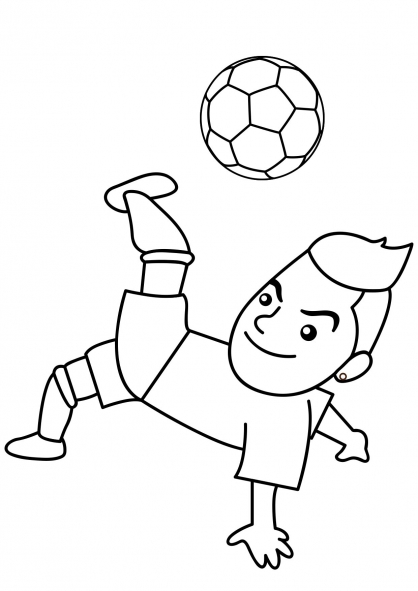 Coloriage Football 3
