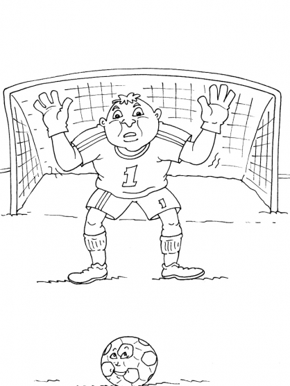 Coloriage Football 32