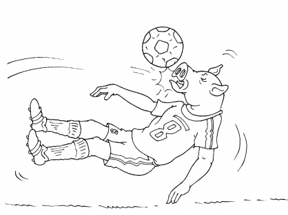 Coloriage Football 33