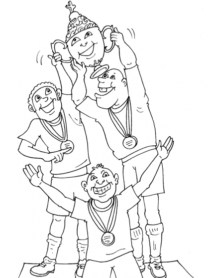 Coloriage Football 36
