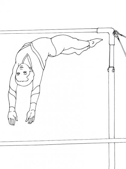 Coloriage Gym 13