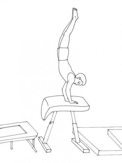 Coloriage Gym 6