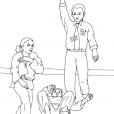 Coloriage Judo 12