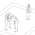 Coloriage Judo 13