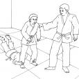 Coloriage Judo 8