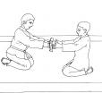 Coloriage Judo 9