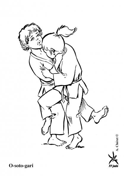 Coloriage o soto gari coloriage judo coloriage sports - Coloriage gulli fr ...