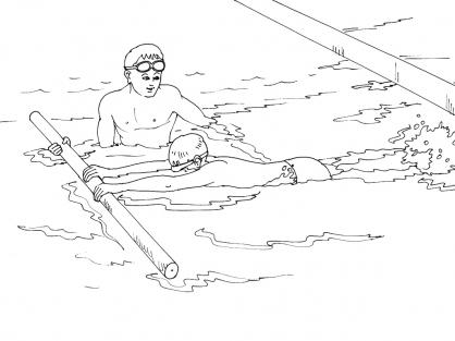 Coloriage natation 7 coloriage natation coloriage sports - Natation dessin ...