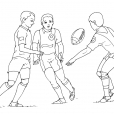 Coloriage Rugby 11