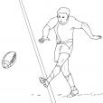 Coloriage Rugby 5