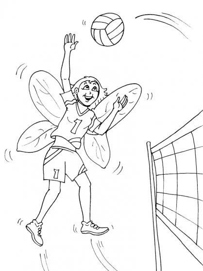 Coloriage Volley 22