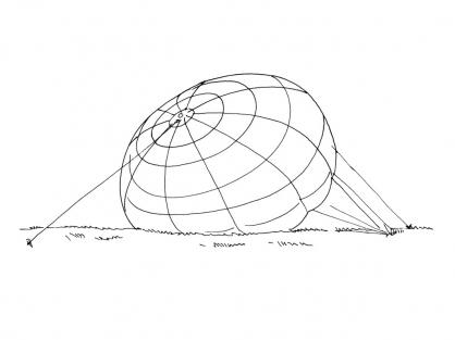 Coloriage Ballon dirigeable 14