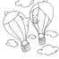 Coloriage Ballon dirigeable 23