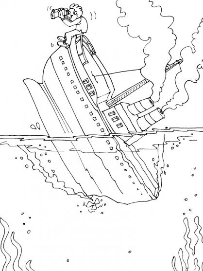 Coloriage bateau 30 coloriage bateaux coloriage transports - Coloriage bateau ...