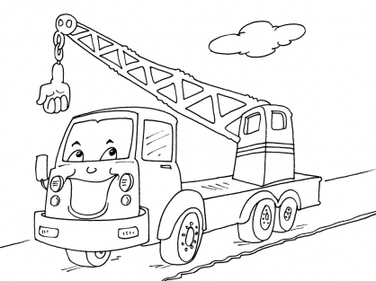 Coloriage Camion 22