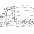 Coloriage Camion 27