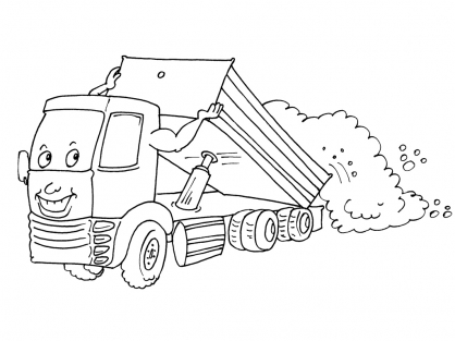 Coloriage Camion 28