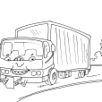Coloriage Camion 29