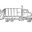 Coloriage Camion 6