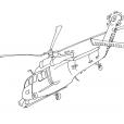 Coloriage Hélicoptère 13
