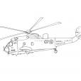 Coloriage Hélicoptère 15