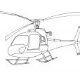 Coloriage Hélicoptère 5