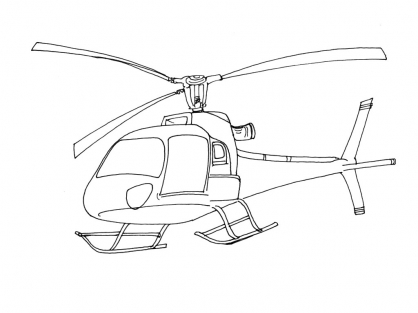 Coloriage h licopt re 5 coloriage h licopt res coloriage transports - Coloriage helicoptere cars ...