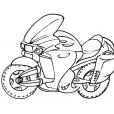 Coloriage Moto 10