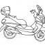 Coloriage Moto 13