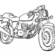 Coloriage Moto 15