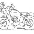Coloriage Moto 18