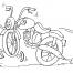 Coloriage Moto 19