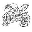 Coloriage Moto 2