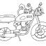 Coloriage Moto 21