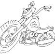 Coloriage Moto 23