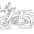 Coloriage Moto 24