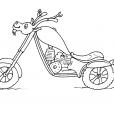 Coloriage Moto 28