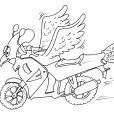Coloriage Moto 29
