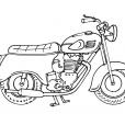 Coloriage Moto 3