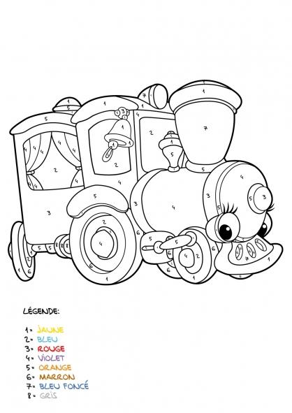 Coloriage Mystère 8