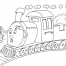 Coloriage Train 26