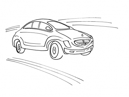 Coloriage Voiture 11