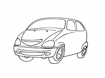 Coloriage Voiture 2